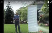 Cleaning Mini-Blinds | Brute