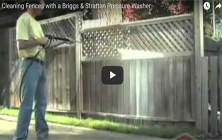 Cleaning Fences | Brute