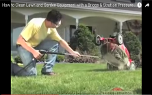 Cleaning Lawn and Garden Equipment | Brute